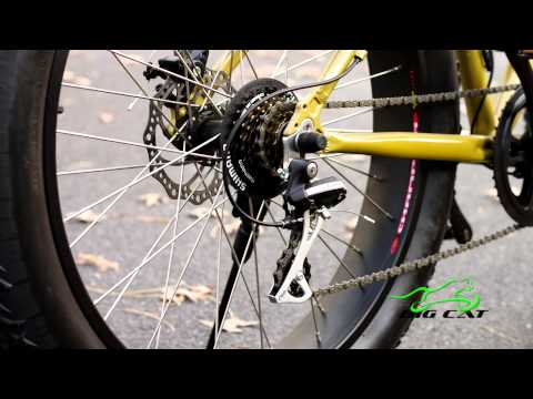 Interbike 2015 Surface 604 Boar E350 Electric Fat Bike