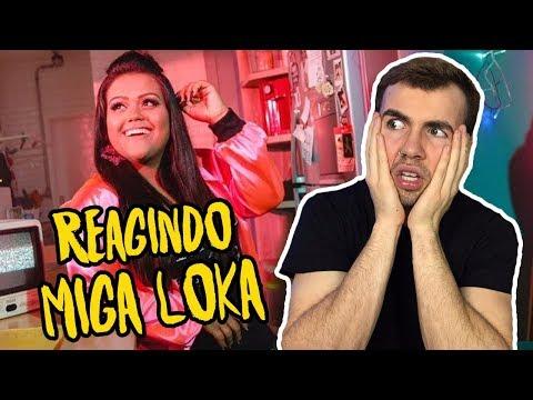 REAGINDO CAMILA LOURES - MIGA LOKA FT. HENRIQUE E DIEGO (apareci no clipe, ou quase)