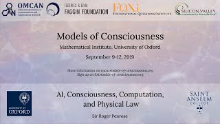 Sir Roger Penrose - Models of Consciousness Conference