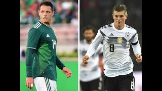 Mexico vs. germany: 2018 world cup preview