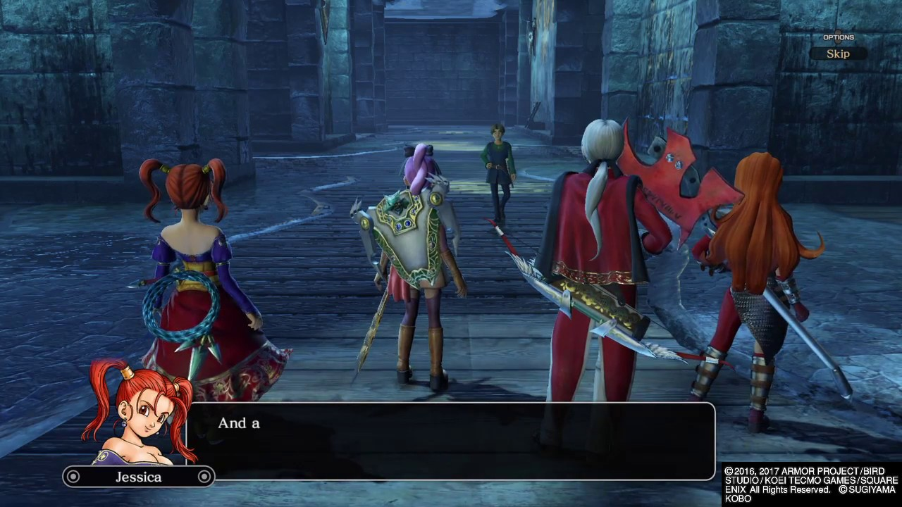 Dragon Quest Heroes Ii Labor Of Love Jessica And Angelo Update Mission Youtube