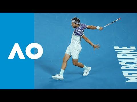 Dominic Thiem Best Shots | Australian Open 2020