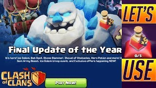 what's new in 2018 final update || let's use hero's portion || clash of clans