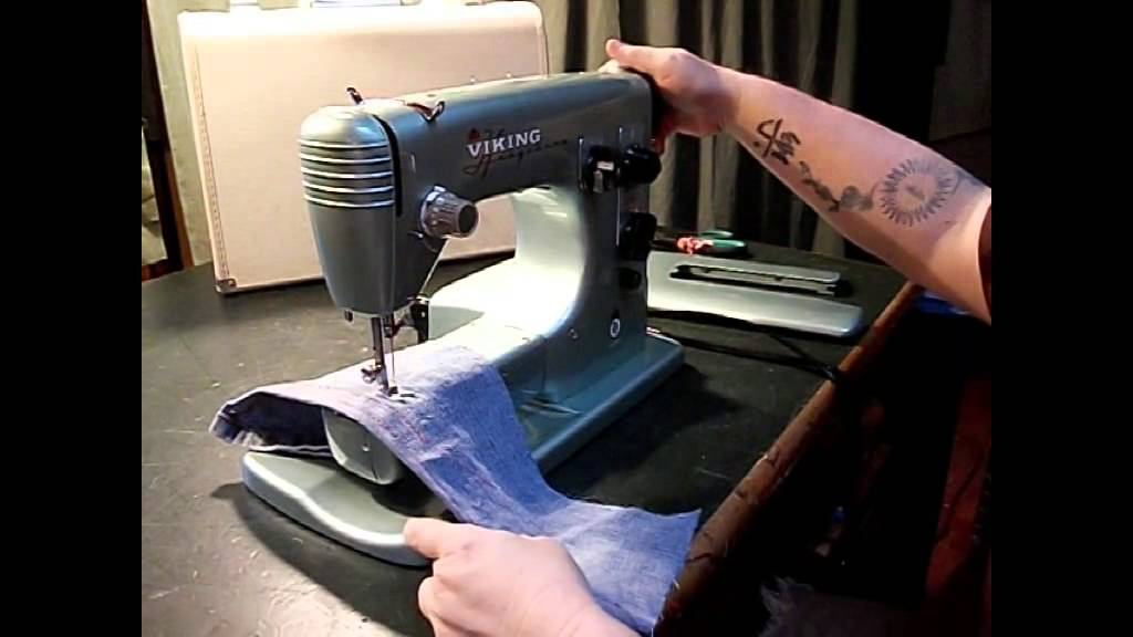 Viking Automatic Vintage Swedish Sewing Machine YouTube Adorable Vintage Viking Sewing Machine