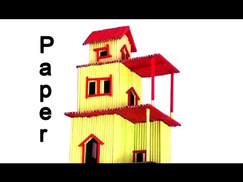 How To Make A Paper House Building Very Easy
