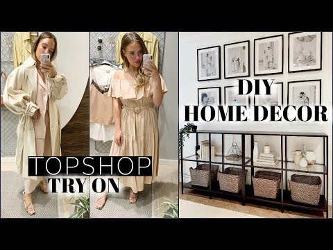 CHEAP DIY HOME DECOR | TopShop Haul | Elanna Pecherle 2019