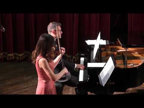 Dinu Lipatti - Sonatina op.1, mov.2 (Diana Jipa & Stefan Doniga)