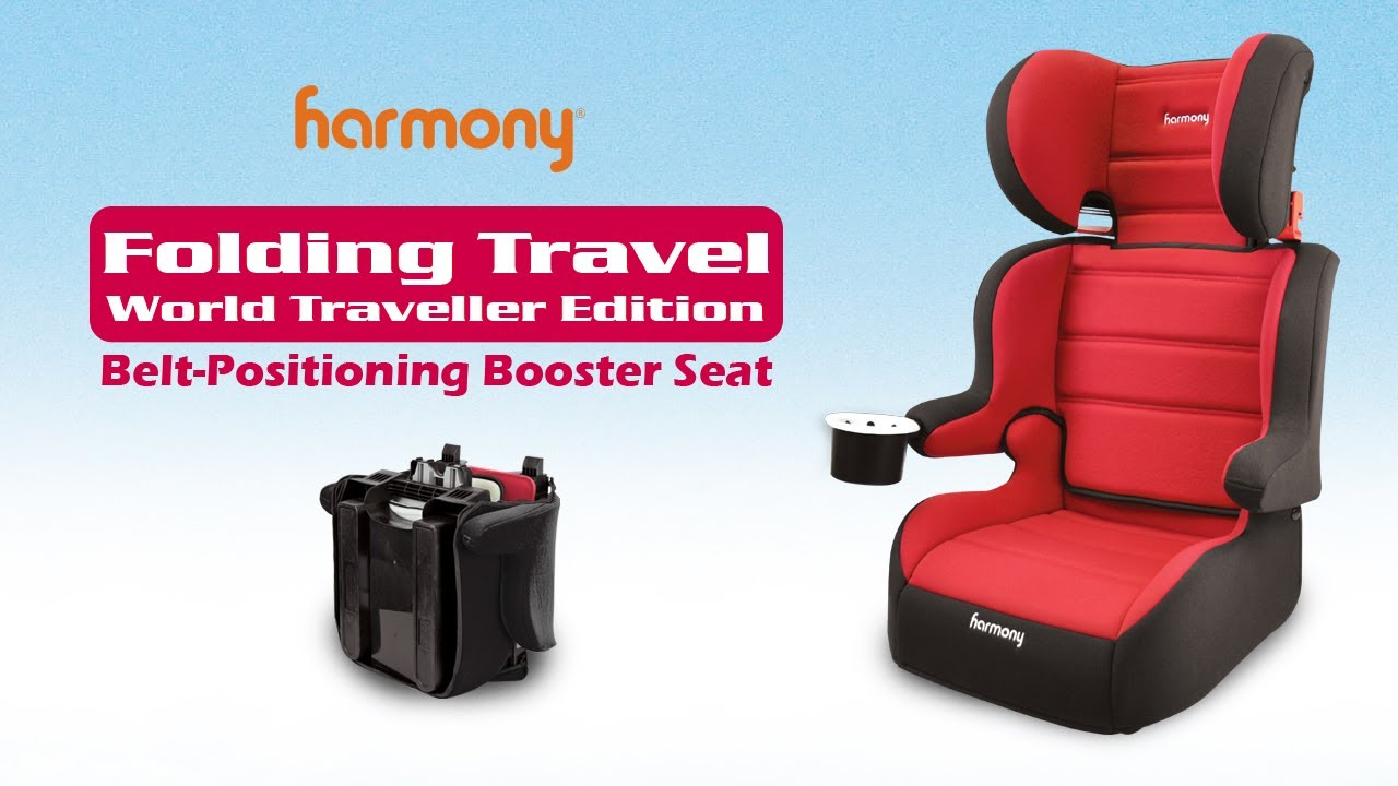 Folding Travel Booster Seat - World