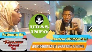 TAXAW SET LU N°03, Invite Docteur Moussa Fall Sur La Discrimination Des Arabophones Au Sénégal