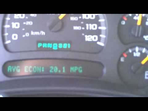 Who Says You Cant Get Good Gas Milage In a Truck? 5.3 Chevy