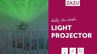 Видео: Zazu Wally Кит ночник-проектор