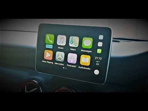 How To Activate And Unlock Apple CarPlay And Android Auto In Mercedes Benz Via OBD Activation Tool