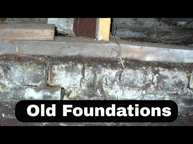 Seismic Retrofitting and Old Foundations