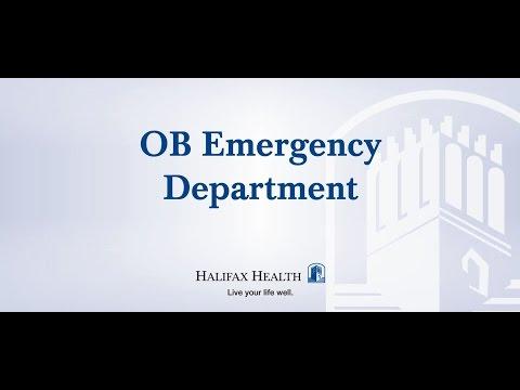Halifax Health - Women & Infant Health, OB Emergency Department