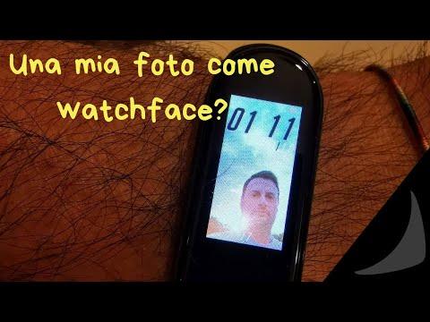 Una tua foto come watch face sulla Xiaomi Mi Band 4? Si