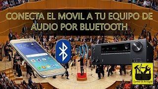 Reproducir musica por bluetooth
