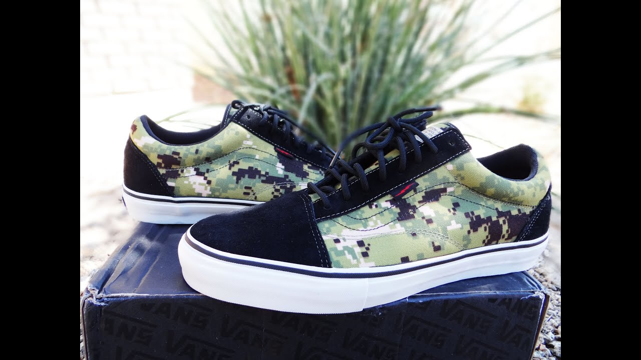 b5bc00bf29 Vans Old Skool Syndicate Defcon Pro S Digi Camo - YouTube