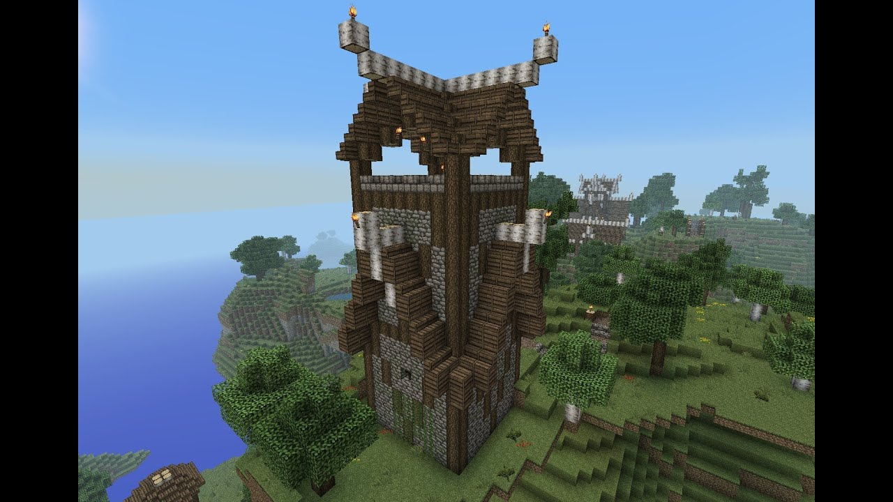 Minecraft Gundahar Tutorials Nordic Watchtower YouTube