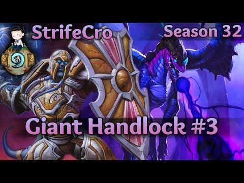 Hearthstone Giant Handlock S32 #3: Lucky Luckers