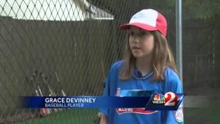 Girls baseball team wins all-boys tournament
