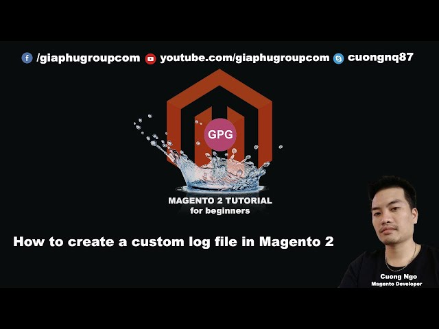 How to create a custom log file in Magento 2