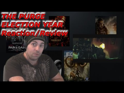 The Purge  Election Year Official Trailer #1 Reaction