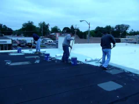 Roof Coating   HYDRO STOP System   847 295 7900 Www.cpmgi.net