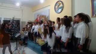 Εκδήλωση Χορωδιών. Νέα Μάδυτος 15 Δεκεμβρίου 2012