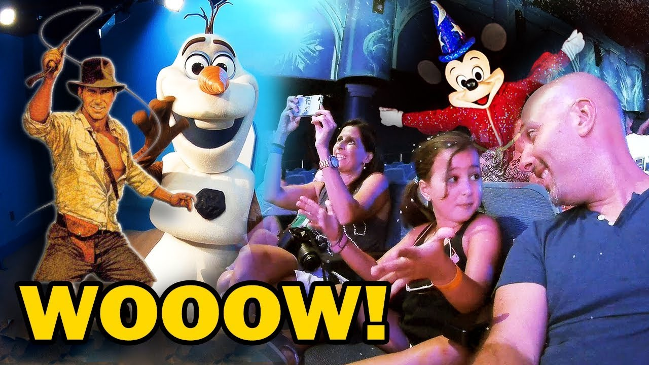 Hollywood Studios Disney World Awesome Shows and Olaf