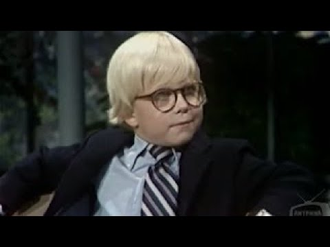 The Tonight Show Starring Johnny Carson: 11/08/1981.Peter Billingsley -Newest Cover Popula
