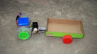 How to make a RC Tractor | Simple