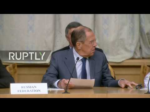 LIVE: Lavrov delivers speech at Moscow meeting with Taliban