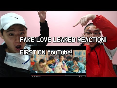 BTS - FAKE LOVE (LEAKED, FIRST REACTION ON YOUTUBE!!!!)