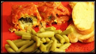 Spinach Lasagna Rolls {easy} - Whitney Cooks