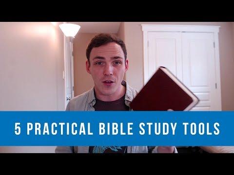 5 Practical Bible Study Tools