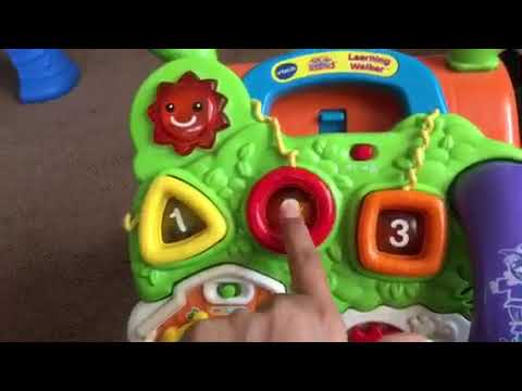 New Vtech Learning Walker For Baby From Toys R Us And Walmart Youtube
