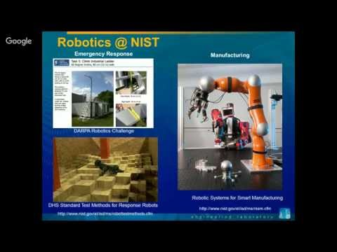 The NIST Robotics Program: Assessing the Agility of Industrial Robots-INCOSE-Chesapeake Chapter-1...