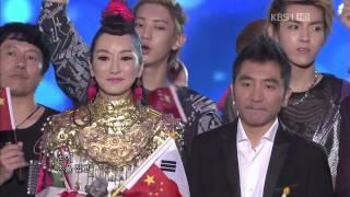 120902 14th Korea-China Music Festival All Artists Ending [SNSD EXO]