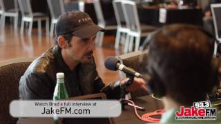 """Brad Paisley with JakeFM """"Love And War"""" Album Release Event"""