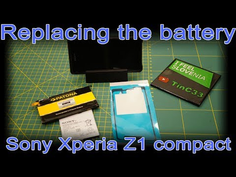 Just Replacing The Battery Into My Old Phone - Sony Xperia Z1 Compact