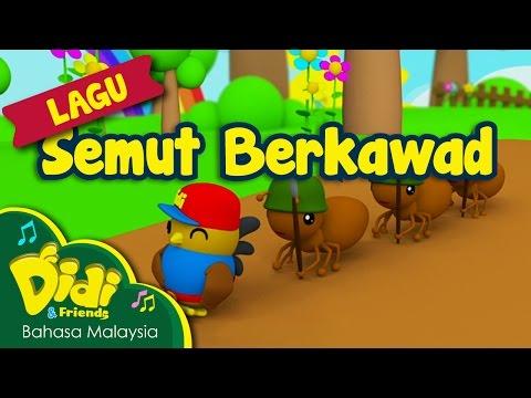 Lagu Kanak Kanak   Semut Berkawad   Didi & Friends