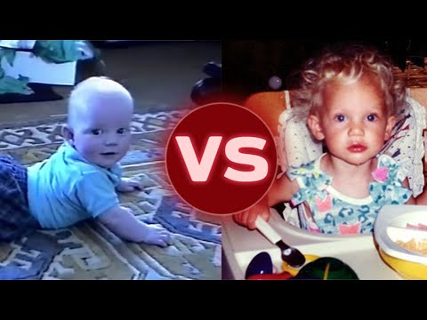 Ed Sheeran Vs. Taylor Swift: Cutest Baby Home Video?! | Hollywire