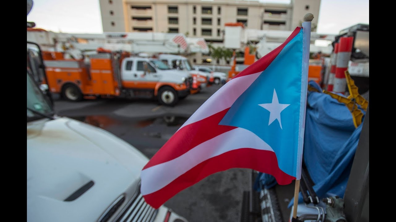 Rain Cant Stop Utility Crews From Restoring Power In Puerto Rico