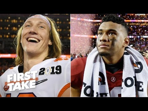 Trevor Lawrence vs. Tua Tagovailoa: Whos the better quarterback? | First Take