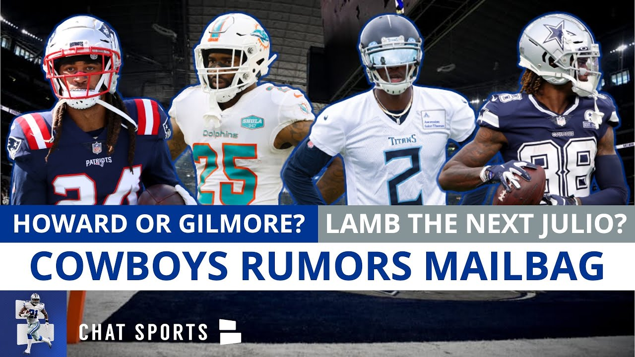 Stephon Gilmore Or Xavien Howard Trade? Sign Gerald McCoy? Bradlee Anae Future? | Cowboys Rumors Q&A