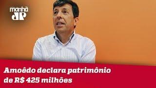 Presidenciável do Novo, Amoêdo declara patrimônio de R$ 425 milhões