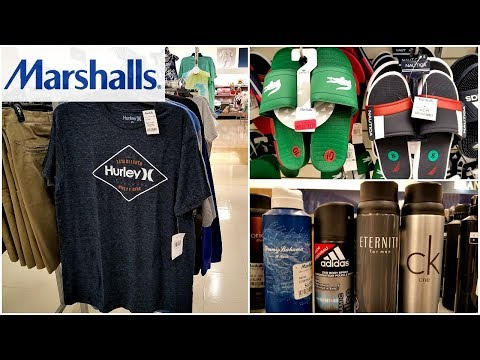 MARSHALLS SHOP WITH ME MEN/YOUNG MENS CLOTHING GROOMING JUNE 2018