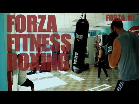 Boxing and Aerial Yoga at Forza Fitness