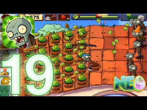 Plants vs. Zombies: Gameplay Walkthrough Part 19 - LEVEL 5.2 - 5.3 COMPLETED (iOS Android)