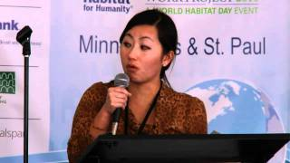 Repeat youtube video Author Kao Kalia Yang on the importance of Twin Cities Habitat